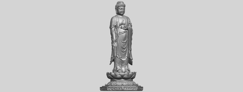 10_TDA0176_Gautama_Buddha_Standing_iiiA03.png Download free STL file Gautama Buddha Standing 03 • 3D printing design, GeorgesNikkei