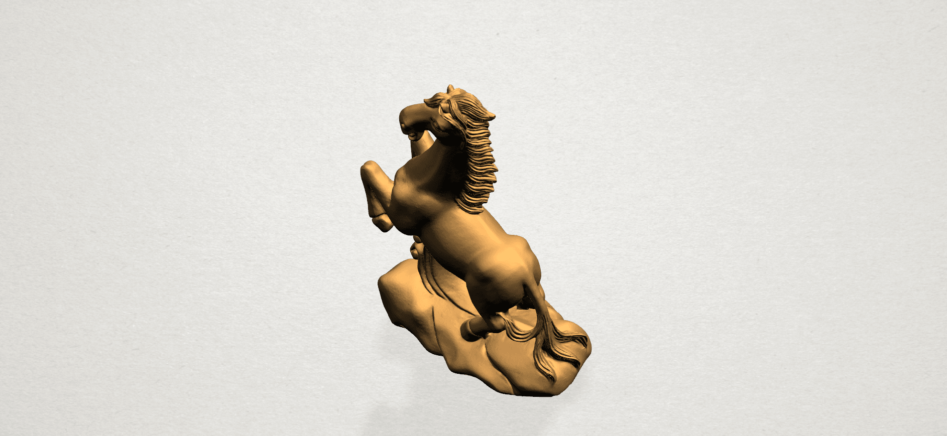 Chinese Horoscope07-A07.png Download free STL file Chinese Horoscope 07 Horse • 3D printer model, GeorgesNikkei