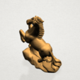 Chinese Horoscope07-A07.png Télécharger fichier STL gratuit Horoscope Chinois 07 Cheval Chinois • Design imprimable en 3D, GeorgesNikkei