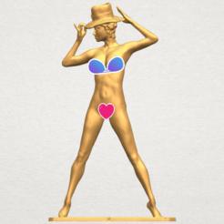 Modèle 3D Fille nue 15, Miketon