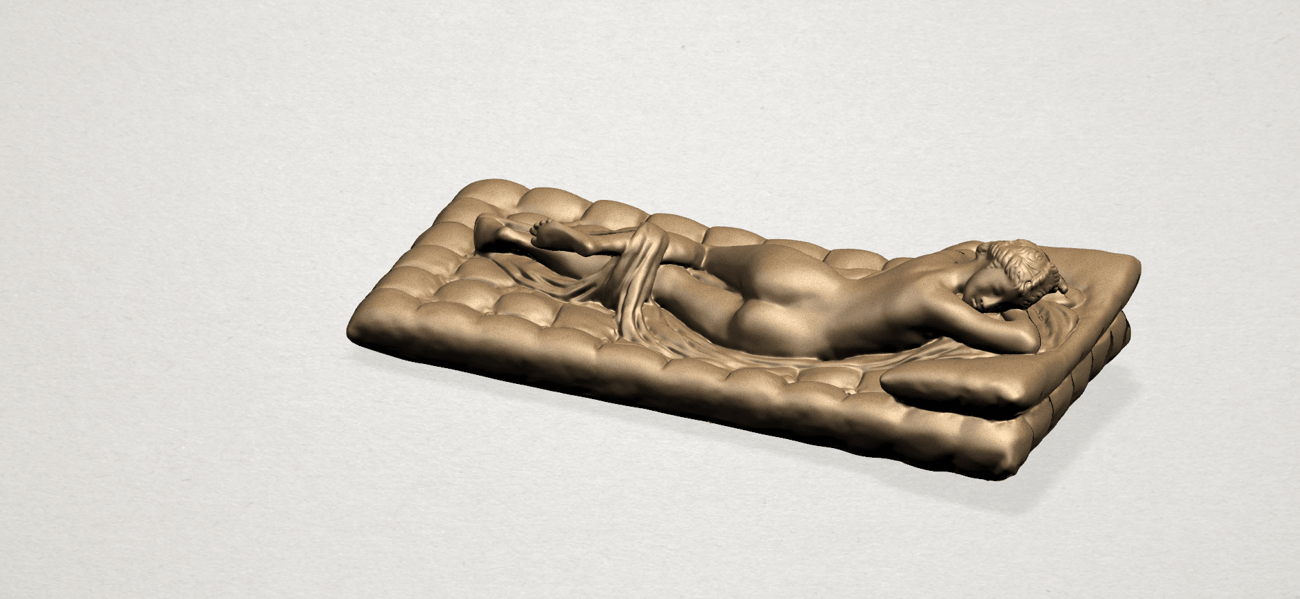 Naked Body Lying on Bed A02.png Download free STL file Naked Girl - Lying on Bed 02 • Object to 3D print, GeorgesNikkei