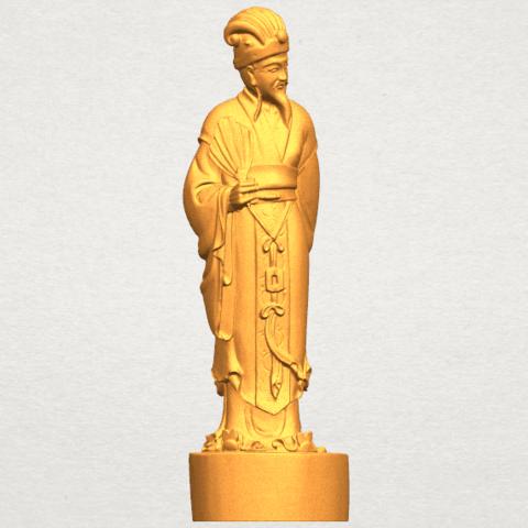 TDA0342 Zhu Ge Liang Kong Ming A06.png Télécharger fichier STL gratuit Zhu Ge Liang Kong Ming Kong Ming • Modèle imprimable en 3D, GeorgesNikkei