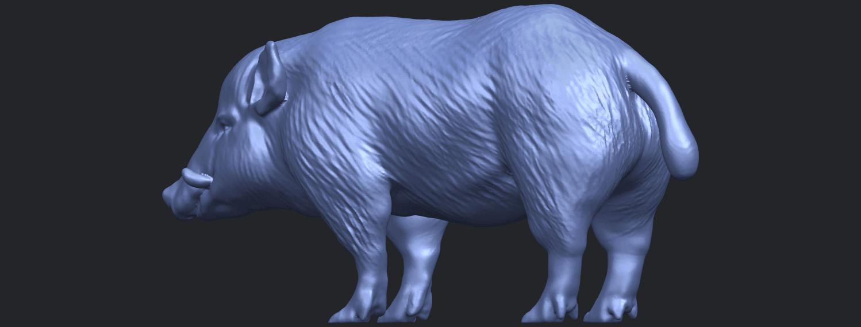 13_TDA0320_Pig_ii_B02.png Download free STL file Pig 02 • 3D printable object, GeorgesNikkei
