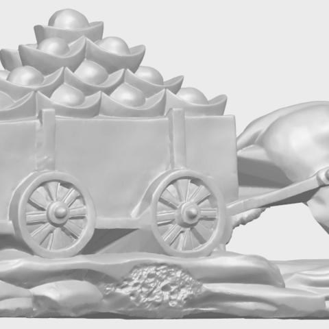 17_TDA0315_Golden_CarA05.png Download free STL file Golden Car • 3D printer template, GeorgesNikkei