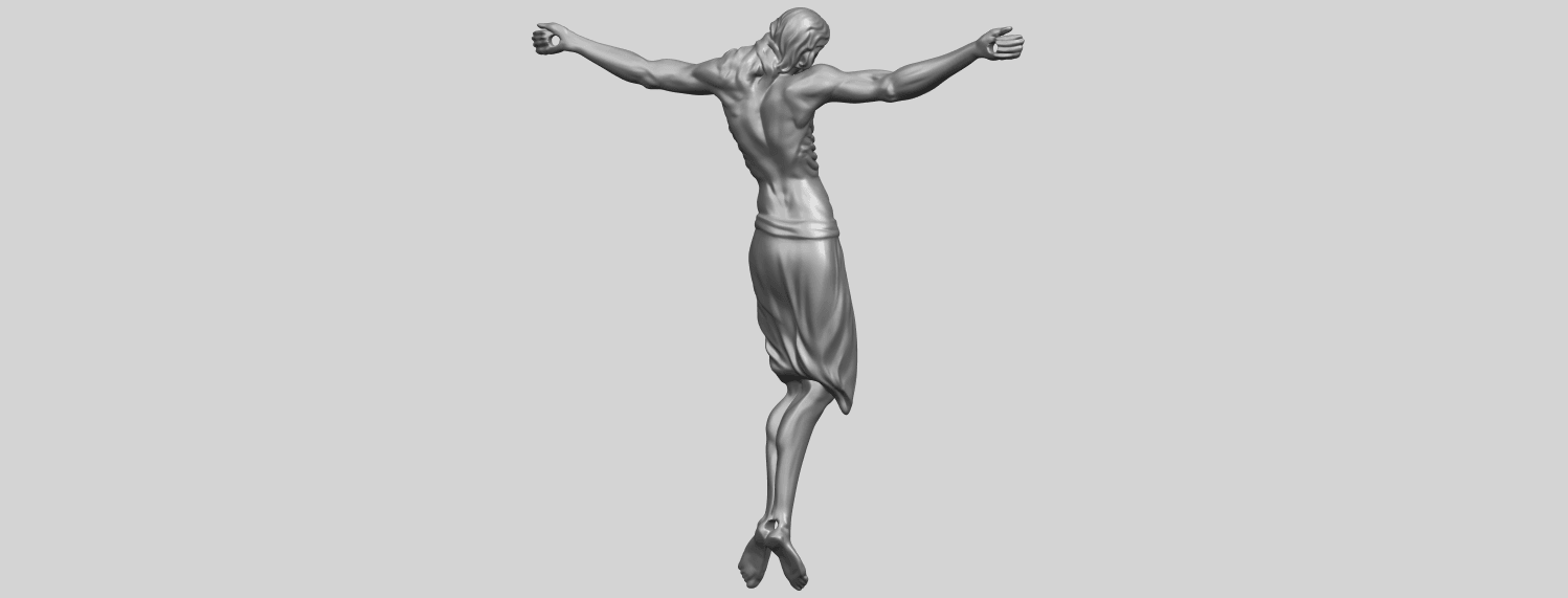 17_TDA0233_Jesus_iv_88mmA07.png Download free STL file Jesus 04 • Template to 3D print, GeorgesNikkei