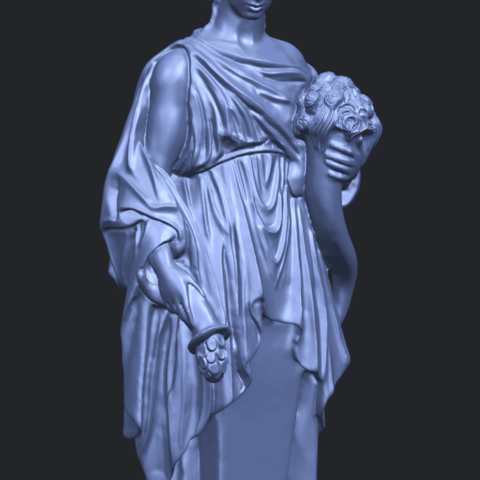 05_TDA0261_Sculpture_of_a_girlA10.png Download free STL file Sculpture of a girl • 3D printable model, GeorgesNikkei