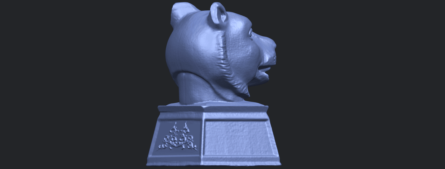 20_TDA0510_Chinese_Horoscope_of_Tiger_02B08.png Download free STL file Chinese Horoscope of Tiger 02 • 3D print object, GeorgesNikkei