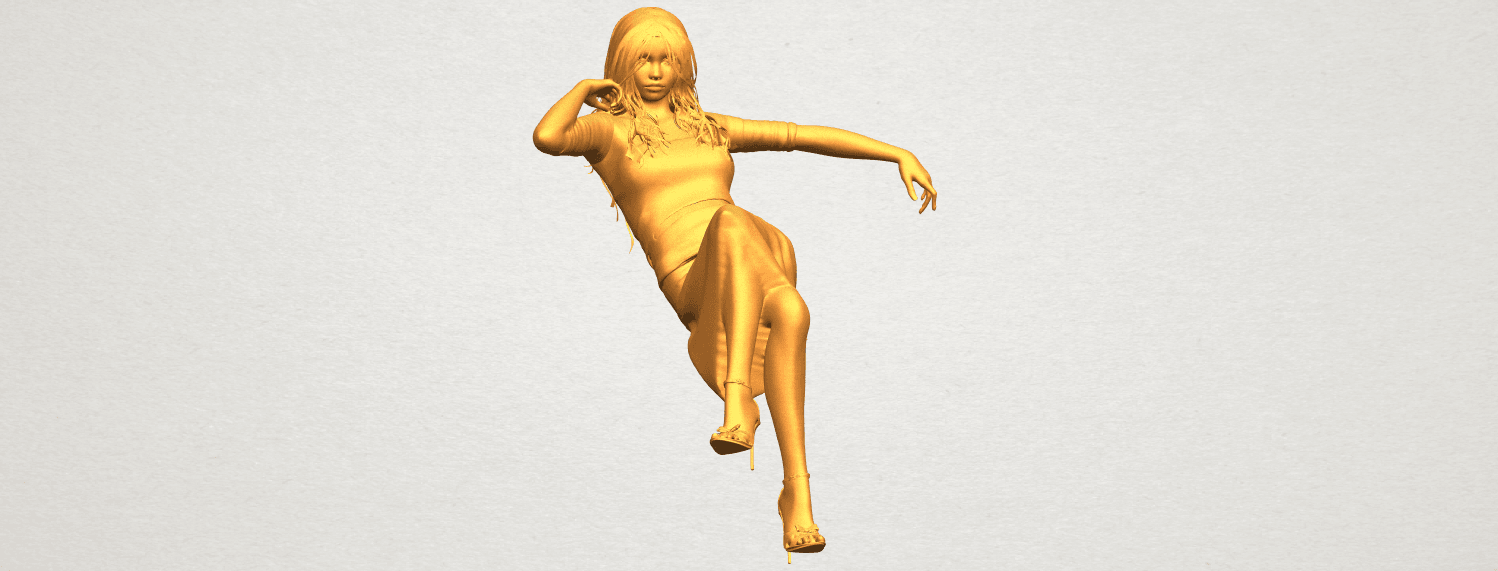 A10.png Download free STL file Naked Girl I01 • 3D print object, GeorgesNikkei