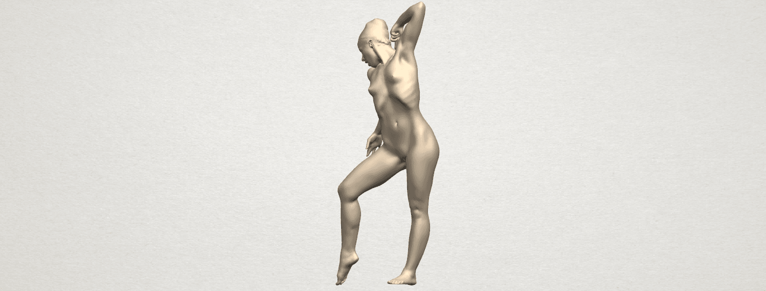 TDA0278 Naked Girl A05 02.png Download free STL file Naked Girl A05 • 3D printer template, GeorgesNikkei