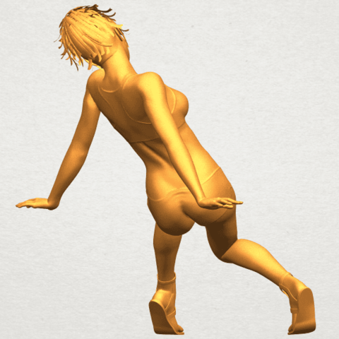 A07.png Download free STL file Naked Girl G03 • 3D print object, GeorgesNikkei