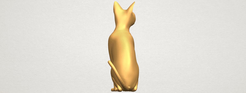 TDA0576 Cat 01 A05.png Télécharger fichier STL gratuit Chat 01 • Modèle pour imprimante 3D, GeorgesNikkei