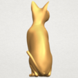 TDA0576 Cat 01 A05.png Download free STL file Cat 01 • Design to 3D print, GeorgesNikkei