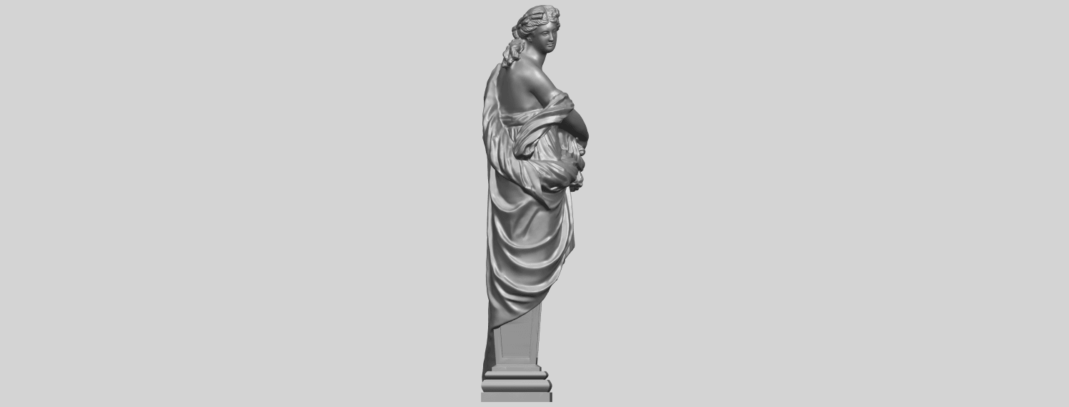 12_TDA0260_Sculpture_AutumnA09.png Download free STL file Sculpture - Autumn • 3D print template, GeorgesNikkei