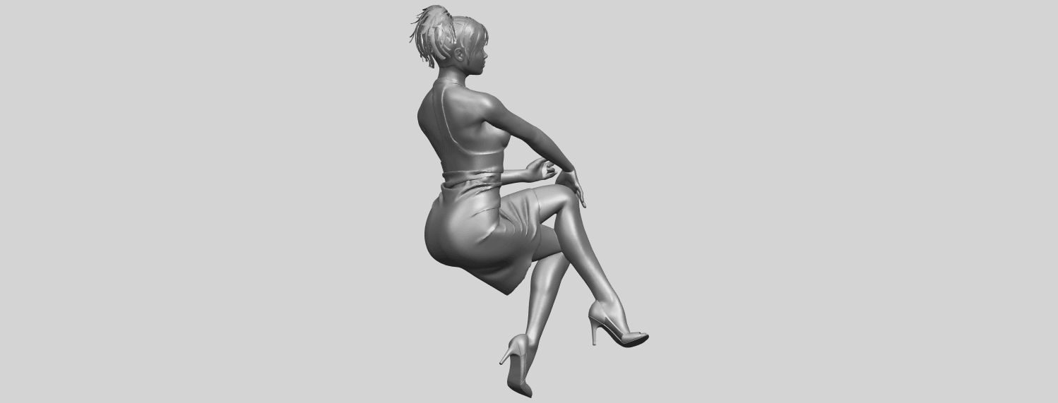 16_TDA0666_Naked_Girl_H04A01.png Download free STL file Naked Girl H04 • 3D printing object, GeorgesNikkei