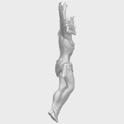 05_TDA0231_Jesus_(ii)_88mmA09.png Download free STL file Jesus 02 • 3D printing template, GeorgesNikkei