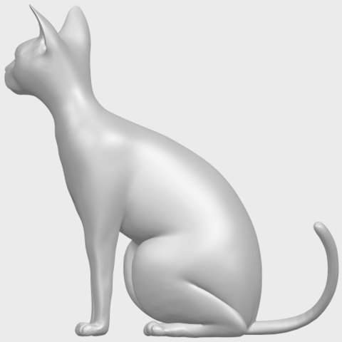02_TDA0576_Cat_01A04.png Download free STL file Cat 01 • Design to 3D print, GeorgesNikkei