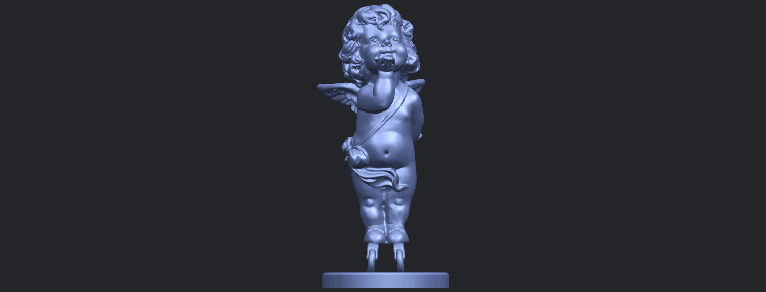 03_TDA0480_Angel_Baby_03B01.png Download free STL file Angel Baby 03 • 3D printing template, GeorgesNikkei