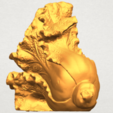 A03.png Download free STL file Vegetable - Fatt Choi 04 • 3D print template, GeorgesNikkei