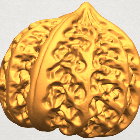 A03.png Download free STL file Walnut • 3D print object, GeorgesNikkei