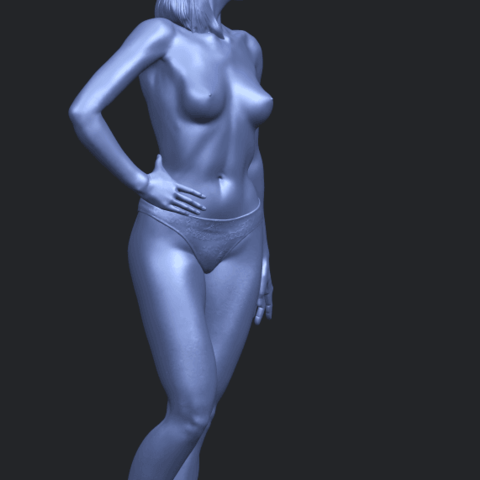 11_TDA0465_Naked_Girl_19_ex800A10.png Download free STL file Naked Girl 19 • 3D printer template, GeorgesNikkei