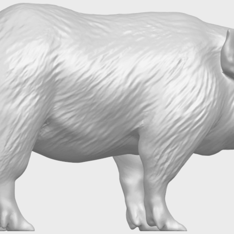 13_TDA0320_Pig_ii_A06.png Download free STL file Pig 02 • 3D printable object, GeorgesNikkei