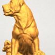 A11.png Download free STL file Dog and Puppy 02 • 3D print design, GeorgesNikkei