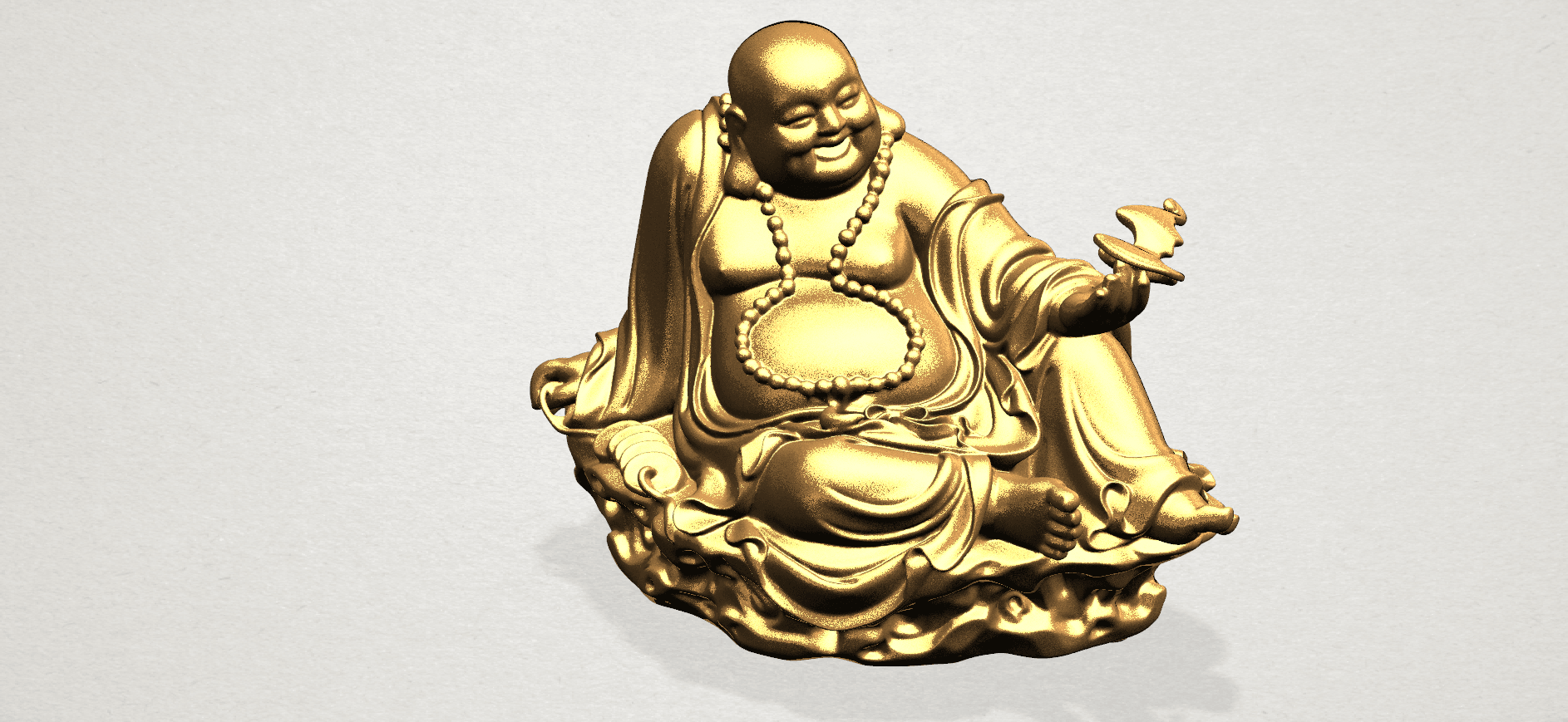 Metteyya Buddha 06 - A07.png Download free STL file Metteyya Buddha 06 • 3D print model, GeorgesNikkei
