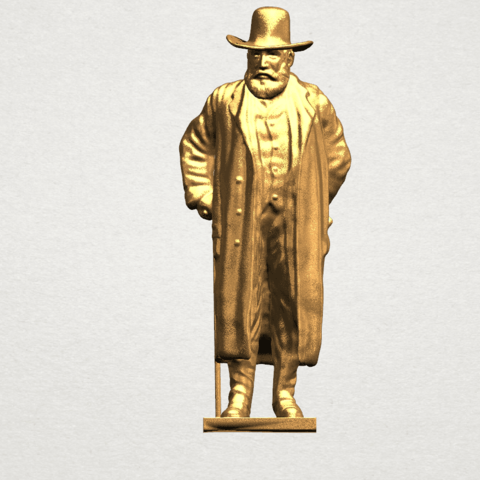 Sculpture of a man A01.png Download free STL file Sculpture of a man 02 • Object to 3D print, GeorgesNikkei