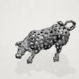 Télécharger modèle 3D gratuit Taureau Voronoi, GeorgesNikkei