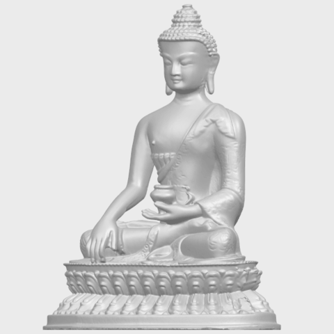 15_TDA0173_Thai_Buddha_(iii)_88mmA02.png Download free STL file Thai Buddha 03 • 3D printing object, GeorgesNikkei