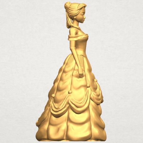 TDA0578 Princess Belle A07.png Télécharger fichier STL gratuit Princesse Belle • Modèle pour impression 3D, GeorgesNikkei