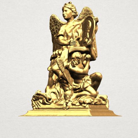 Angel (vi) - A02.png Télécharger fichier STL gratuit Ange 06 • Modèle pour imprimante 3D, GeorgesNikkei