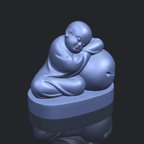 03_TDA0346_Little_MonkB00-1.png Download free STL file Little Monk 02 • Design to 3D print, GeorgesNikkei