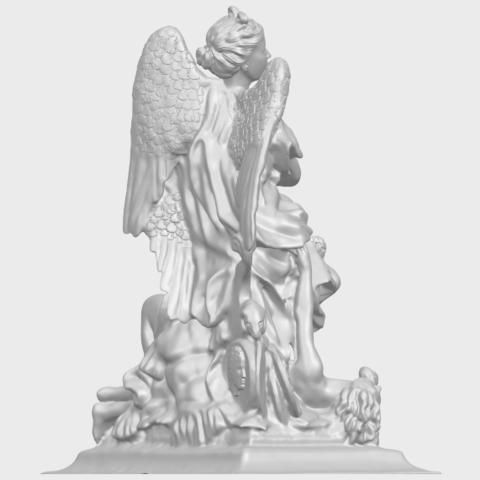 17_TDA0206_Angel_viA08.png Télécharger fichier STL gratuit Ange 06 • Modèle pour imprimante 3D, GeorgesNikkei