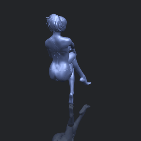 20_TDA0664_Naked_Girl_H02B00-1.png Download free STL file Naked Girl H02 • 3D print object, GeorgesNikkei