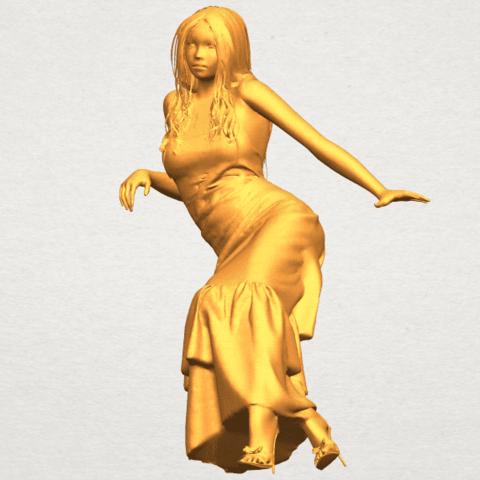 A02.png Télécharger fichier STL gratuit Fille Nue I02 • Objet à imprimer en 3D, GeorgesNikkei