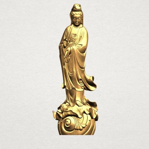 Télécharger fichier impression 3D gratuit Avalokitesvara Bodhisattva - Debout 01, GeorgesNikkei