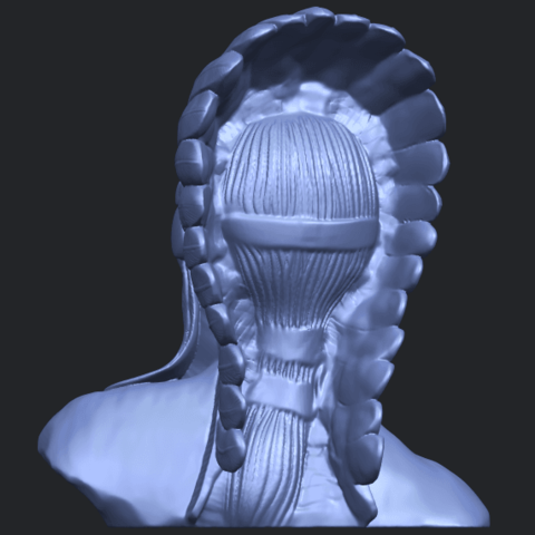 09_TDA0489_Red_Indian_03_BustB06.png Download free STL file Red Indian 03 • 3D printer model, GeorgesNikkei