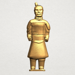 Free 3D printer designs Xian Warrior 01, GeorgesNikkei