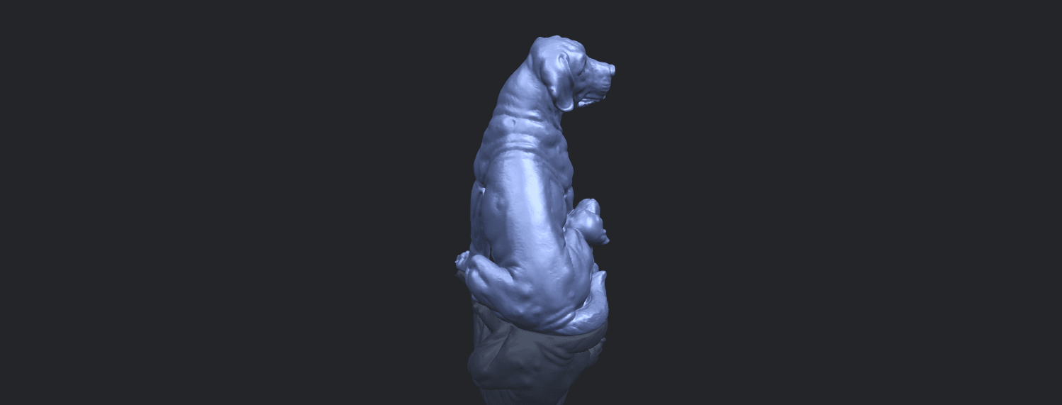 02_TDA0526_Dog_and_PuppyB00-1.png Download free STL file Dog and Puppy 01 • Model to 3D print, GeorgesNikkei