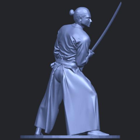 05_TDA0544_Japanese_WarriorB08.png Download free STL file Japanese Warrior • 3D printer model, GeorgesNikkei