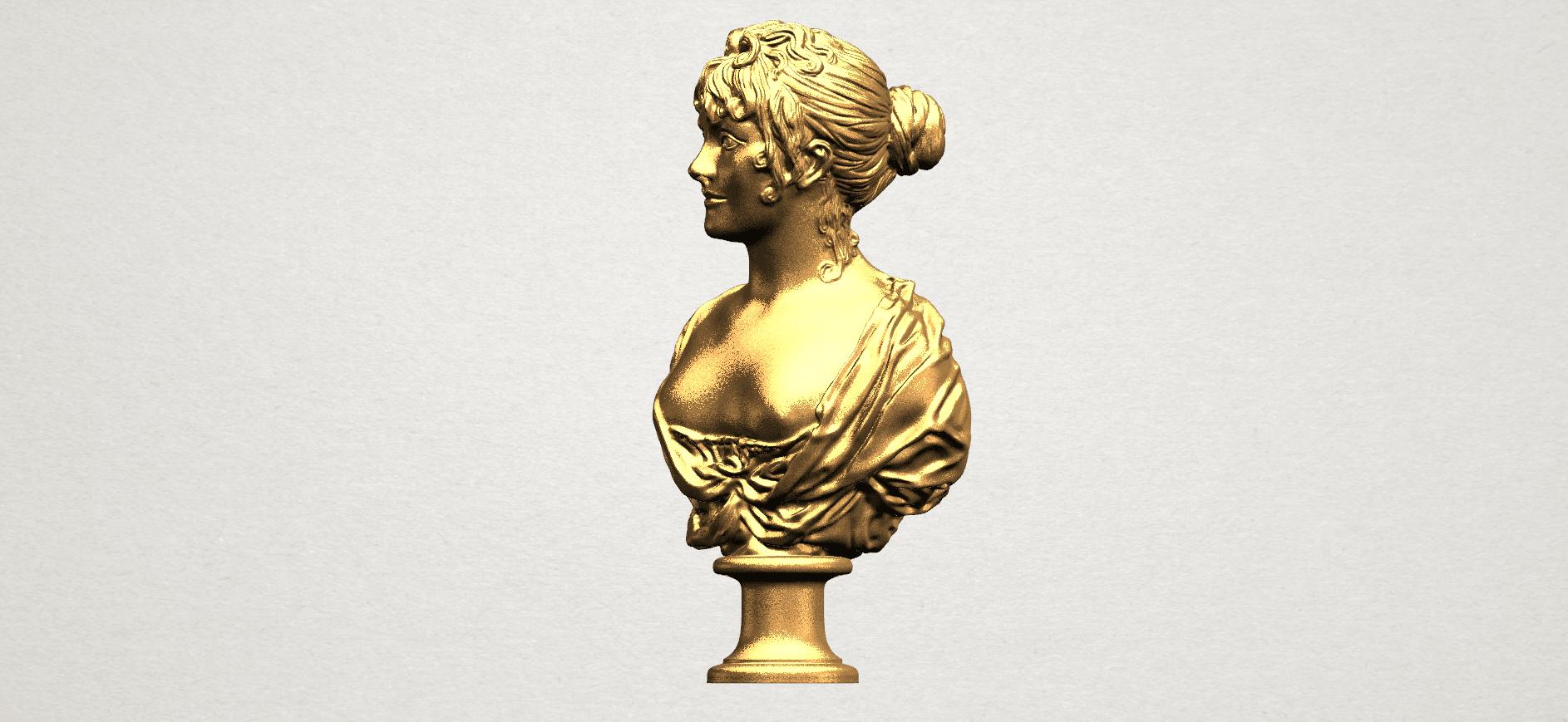 Bust of a girl 01 A02.png Télécharger fichier STL gratuit Buste d'une fille 01 • Modèle à imprimer en 3D, GeorgesNikkei