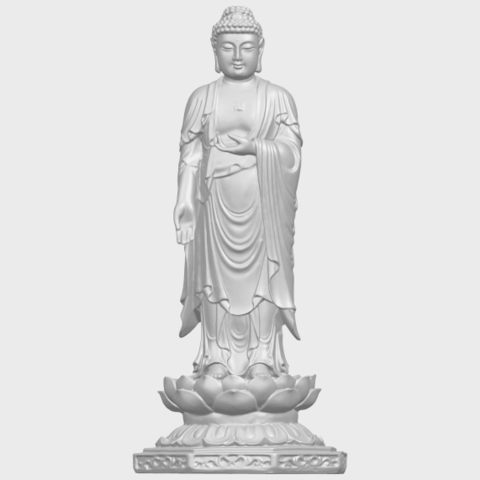 10_TDA0176_Gautama_Buddha_Standing_iiiA04.png Download free STL file Gautama Buddha Standing 03 • 3D printing design, GeorgesNikkei