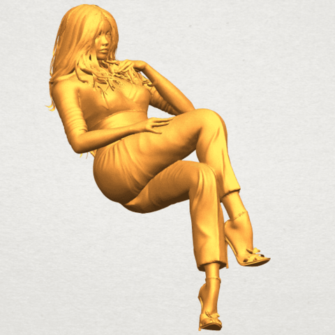 A10.png Download free STL file Naked Girl I05 • Object to 3D print, GeorgesNikkei