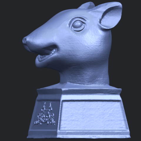 17_TDA0508_Chinese_Horoscope_of_Rat_02B03.png Download free STL file Chinese Horoscope of Rat 02 • 3D printable model, GeorgesNikkei