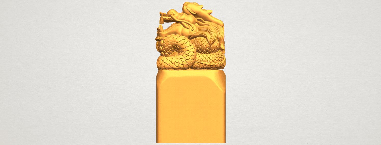A01.png Télécharger fichier STL gratuit Timbre Dragon 01 • Objet à imprimer en 3D, GeorgesNikkei