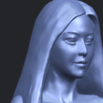 Download free 3D printer designs Beautiful Girl - Half Body, GeorgesNikkei