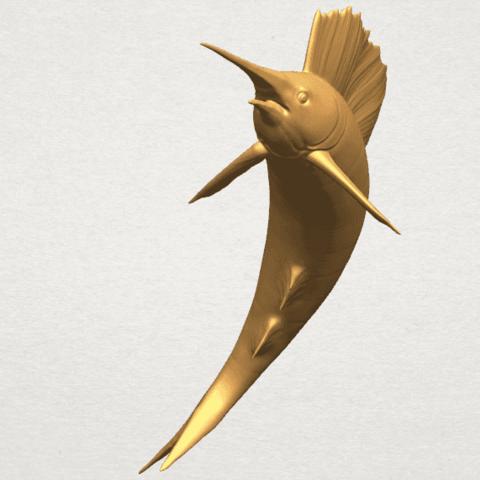 TDA0572 Swordfish 02 A04.png Télécharger fichier STL gratuit Espadon 02 • Objet pour impression 3D, GeorgesNikkei