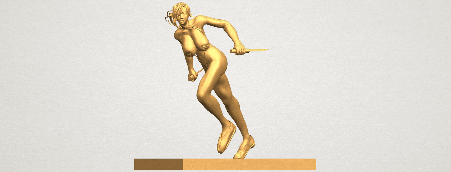 TDA0586 Sexy Girl 09 A08.png Download free STL file Sexy Girl 09 • 3D printing template, GeorgesNikkei