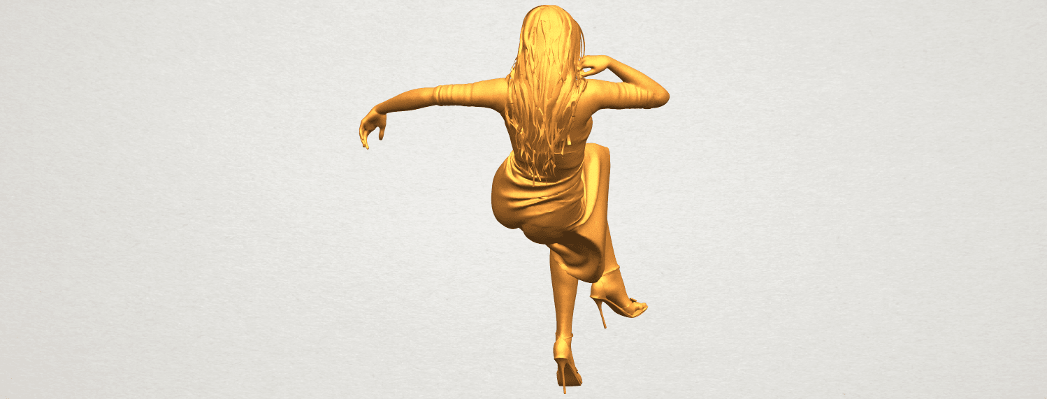 A06.png Download free STL file Naked Girl I01 • 3D print object, GeorgesNikkei